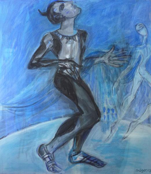 Nijinsky als Faun