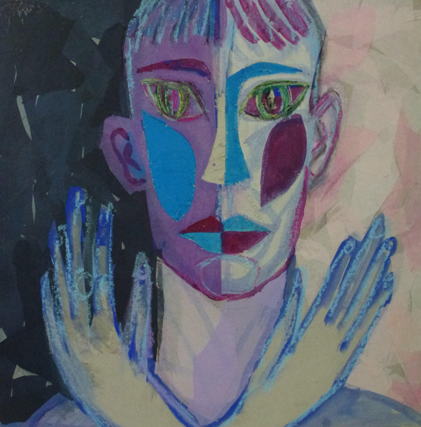 Porträt Waslaw Nijinsky